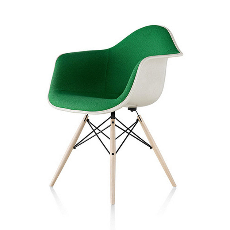 Eames DAW Moulded Fibreglass Armchair Dowel base by Herman Miller - Innerspace - 1