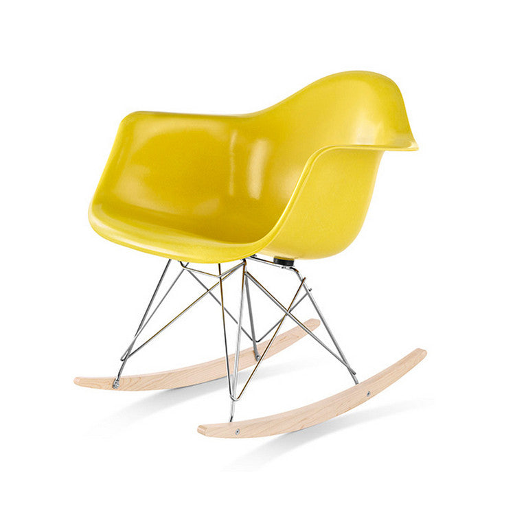Eames RAR Moulded Fibreglass Rocking Chair by Herman Miller - Innerspace - 1
