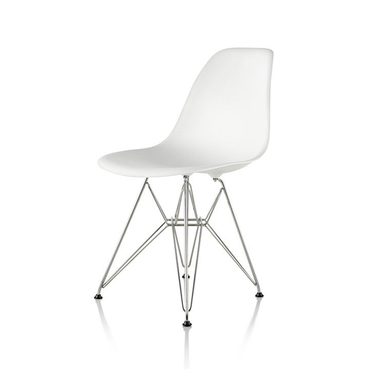 Charming Eames DSR Moulded Plastic Chair Eiffel Base By Herman Miller   Innerspace    1