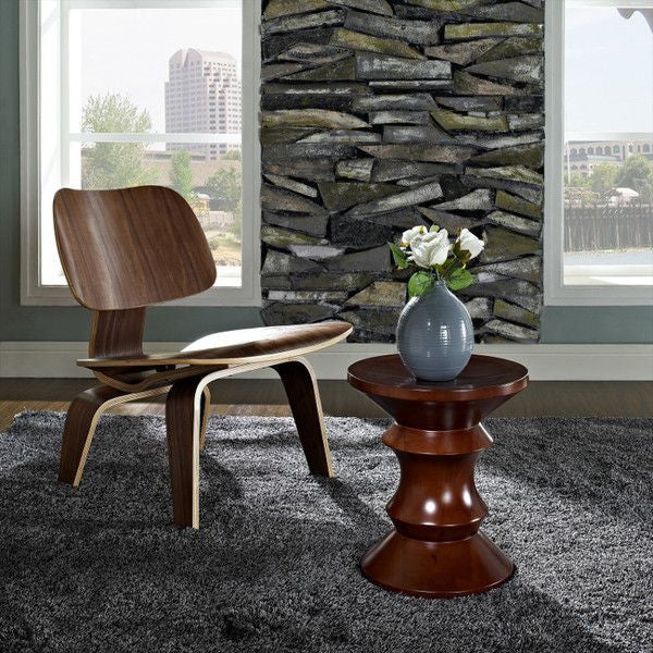 Eames Walnut Stool by Herman Miller - Innerspace - 1