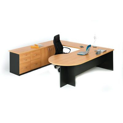 Linea Executive Desk by Innerspace - Innerspace