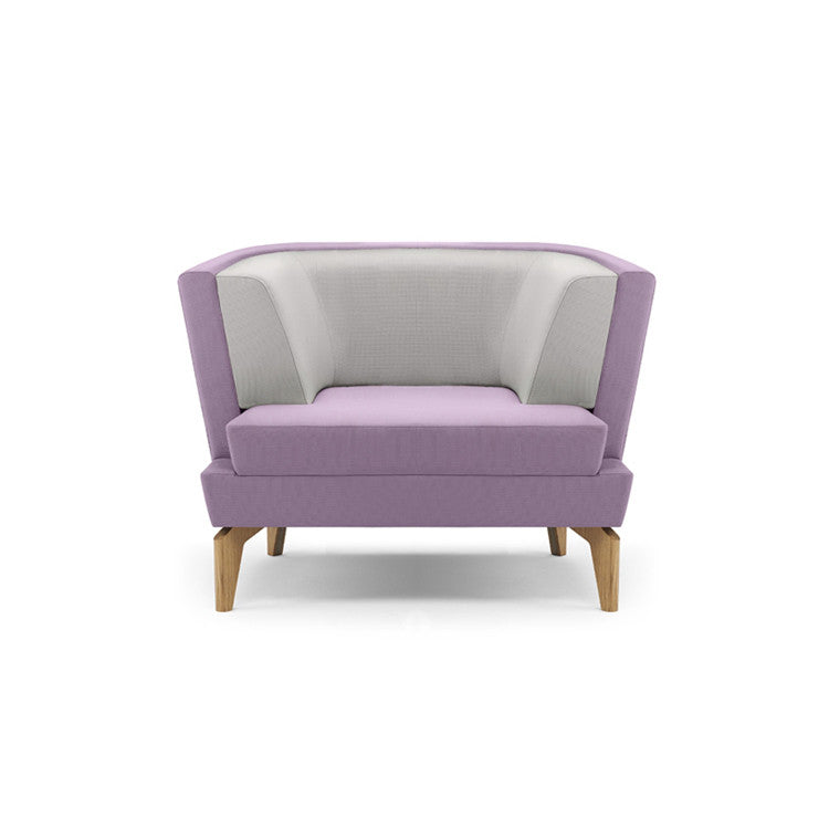 Entente Low Back Armchair by Boss Design