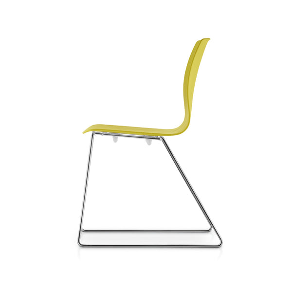 Fiore Sled Chair by Dauphin