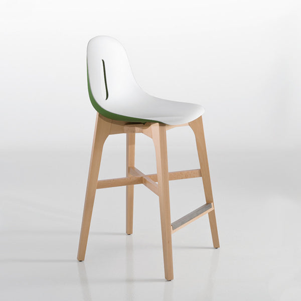 Gotham Stool on Timber base by Chairs and More - Innerspace - 1