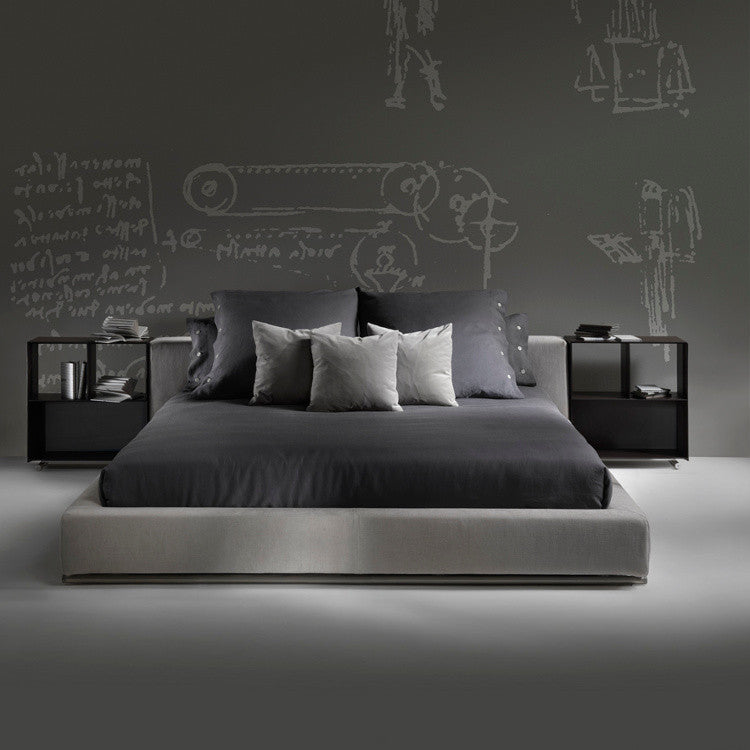 Groundpiece Bed by Flexform - Innerspace - 1