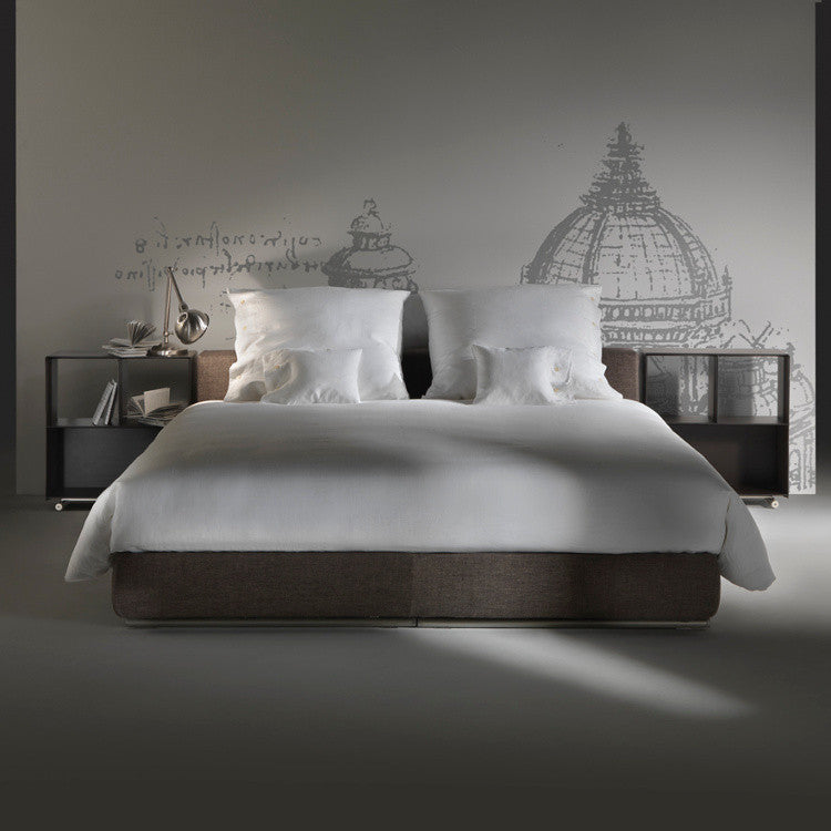 Groundpiece Slim Bed by Flexform - Innerspace - 1