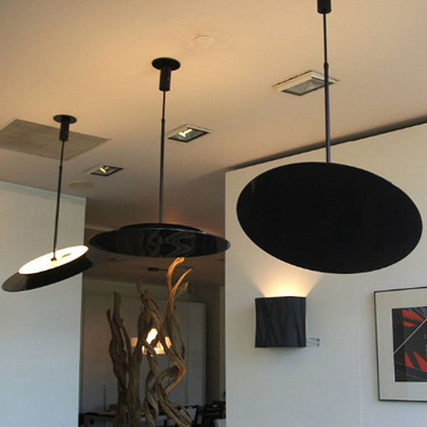 Hanging Hoop Pendant Light by Fambuena