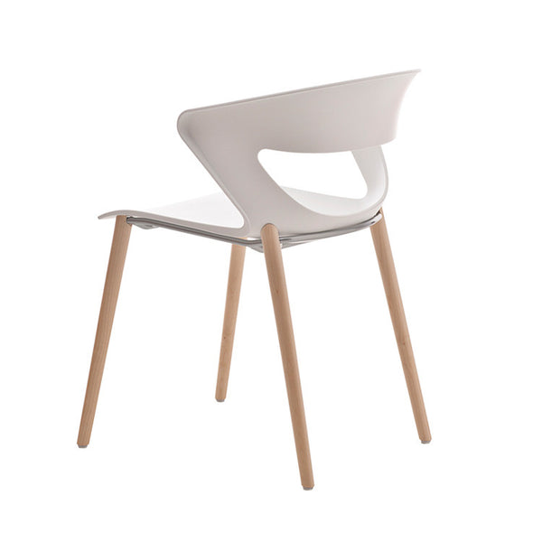 Kicca Chair Timber Leg by Kastel