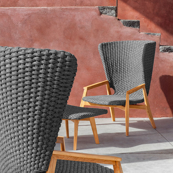 Knit High Back Armchair by Ethimo - Innerspace - 1