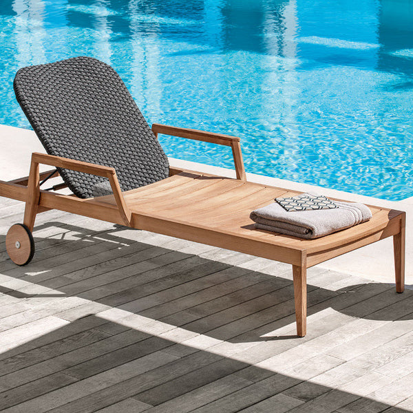 Knit Sun Lounger by Ethimo - Innerspace - 1