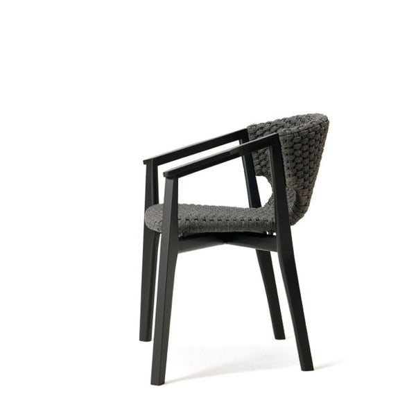 Knit Dining Armchair by Ethimo - Innerspace - 10