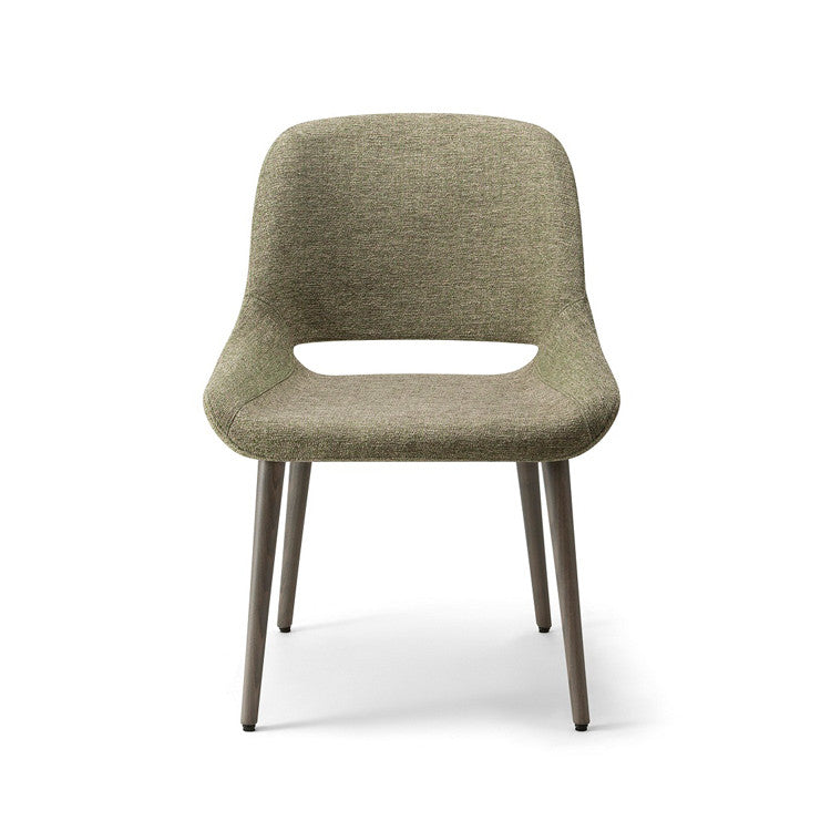 Magda 01 Dowel leg Chair by Torre - Innerspace - 1