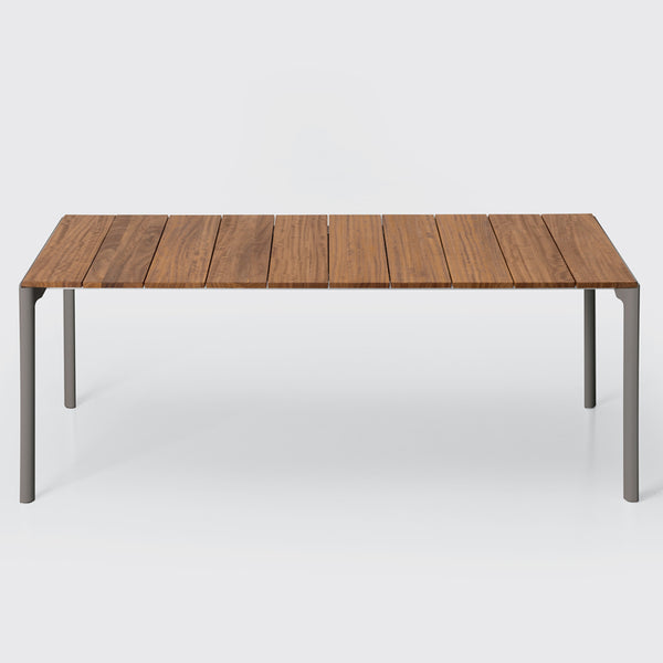 Maki Slatted Outdoor Table by Kristalia