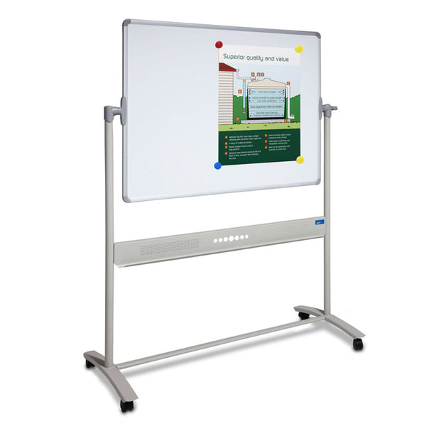 Fixed Frame Mobile Whiteboard by Innerspace - Innerspace - 1