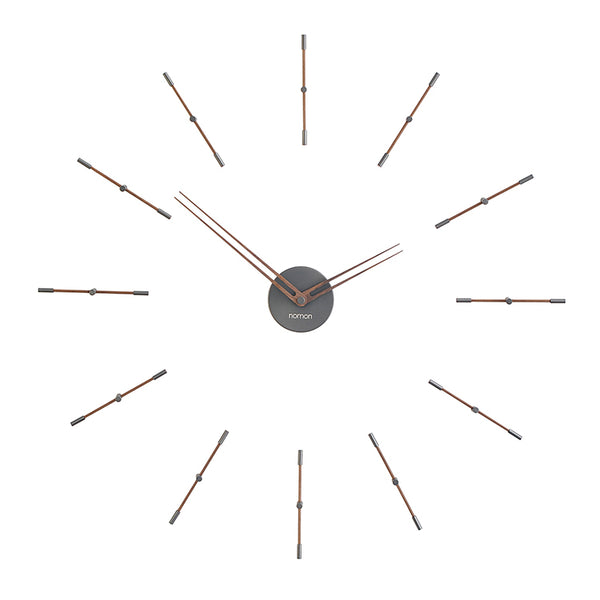 Mini Merlin T Wall Clock by Nomon