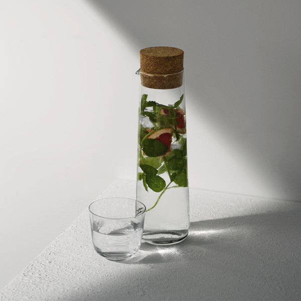 Water Carafe with Cork Lid by Menu - Innerspace - 1