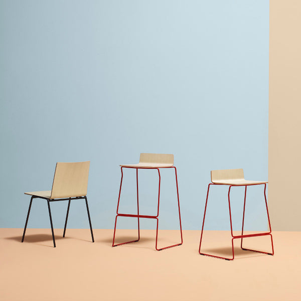 Osaka Metal Stool by Pedrali - Innerspace - 1