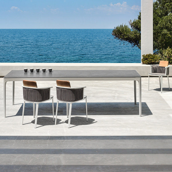 Play Rectangular Dining Table by Ethimo - Innerspace - 1
