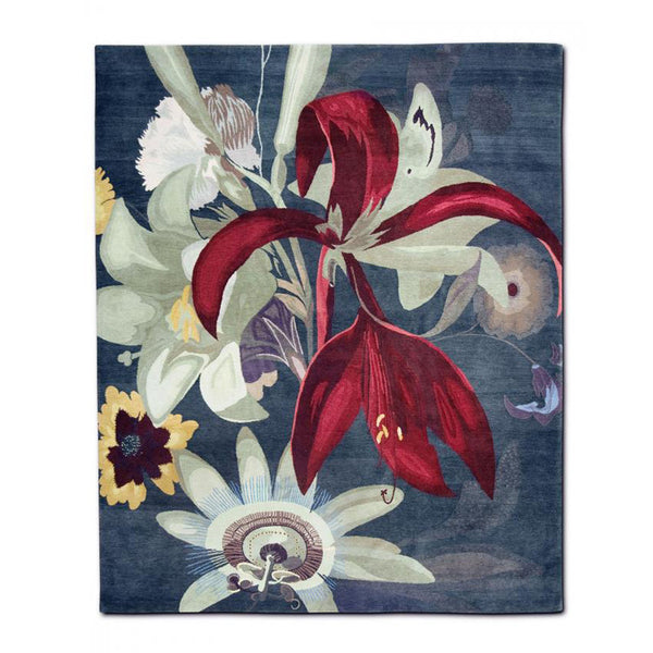 Eden Red Flower by Rug Star - Innerspace - 1