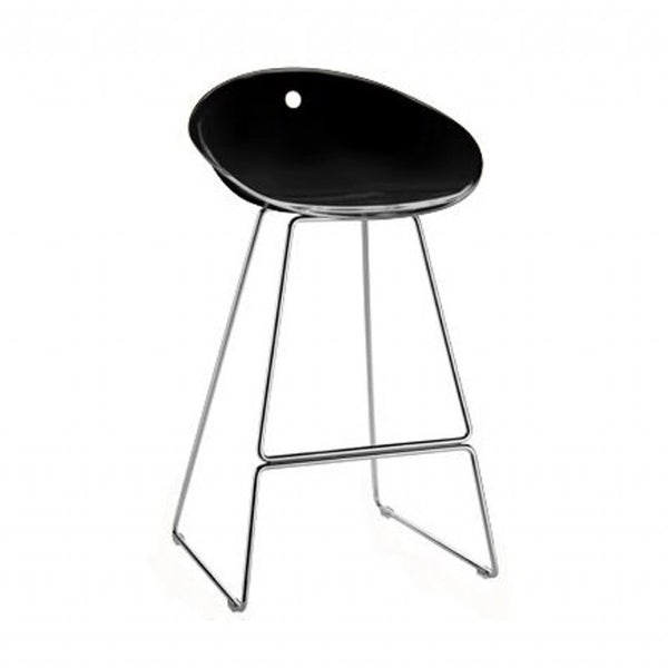 Gliss Bar Stool on sled base by Pedrali - Innerspace - 1