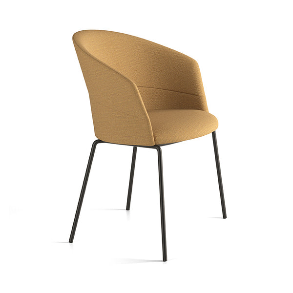Copa 4 Leg Metal Chair by Viccarbe