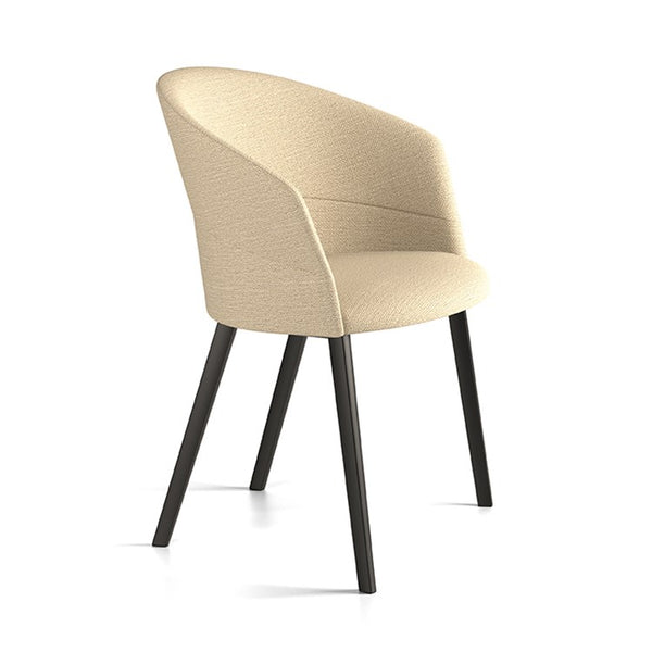 Copa 4 Leg Timber Chair by Viccarbe