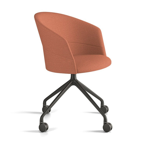 Copa Pyramid Swivel Chair by Viccarbe