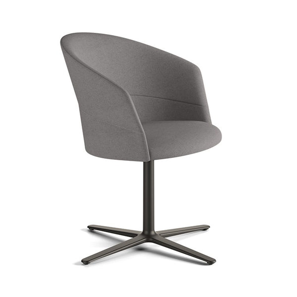 Copa Flat Swivel Chair by Viccarbe