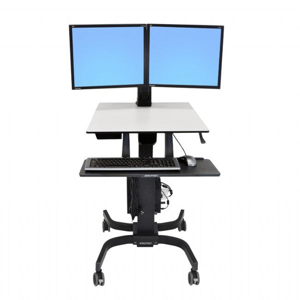 Workfit-C Sit to Stand - Dual LCD by Ergotron - Innerspace - 1