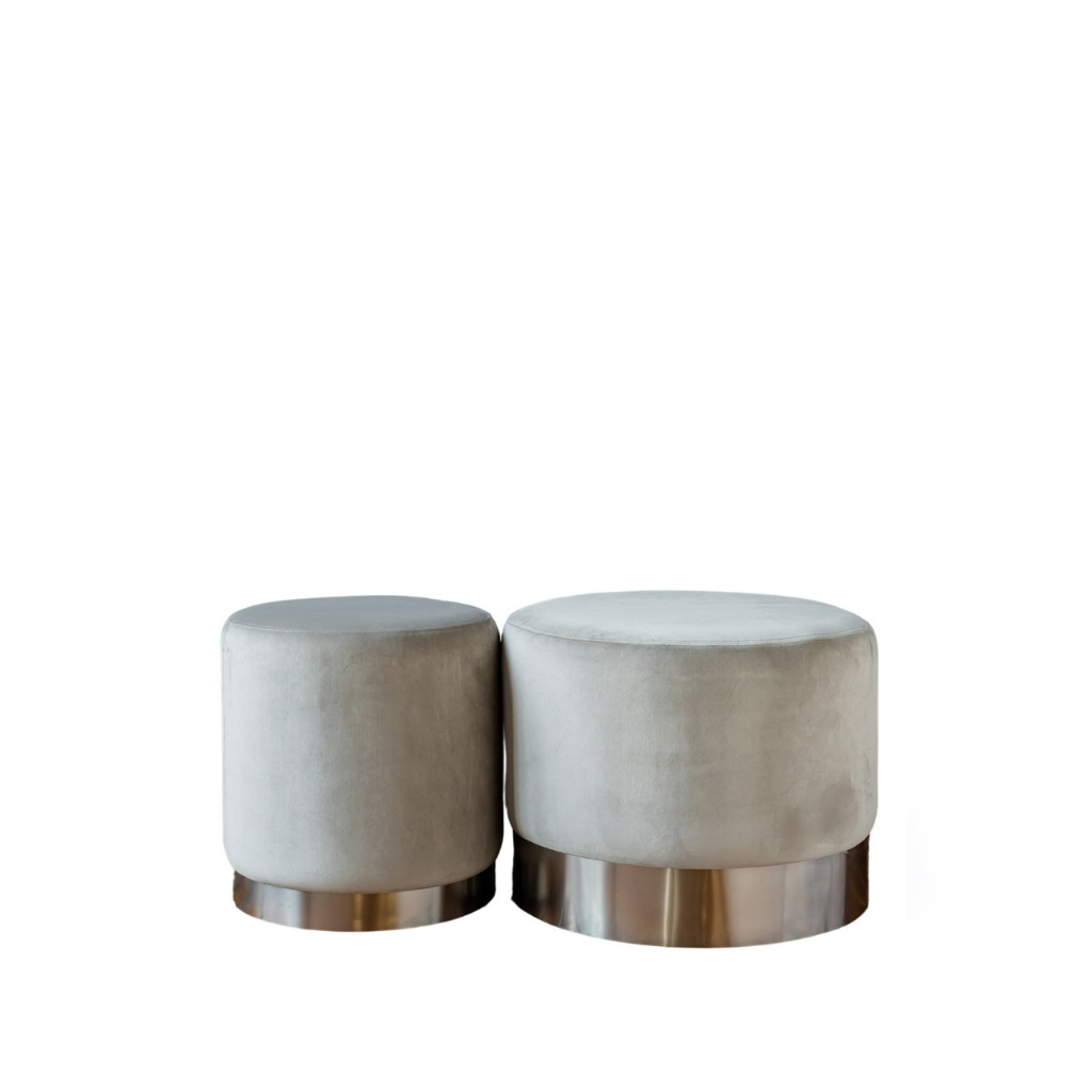 Wee & Stout Ottomans