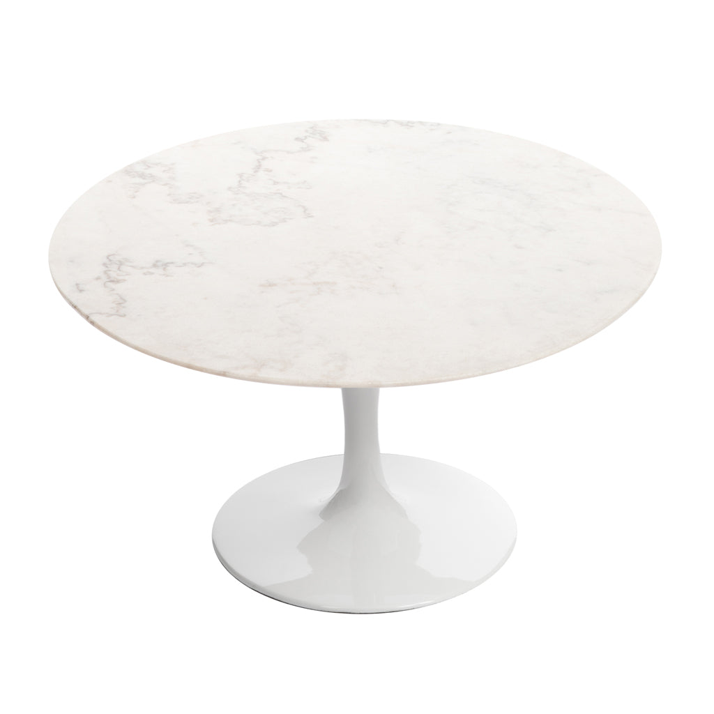 White/Calcutta Gold Marble Top