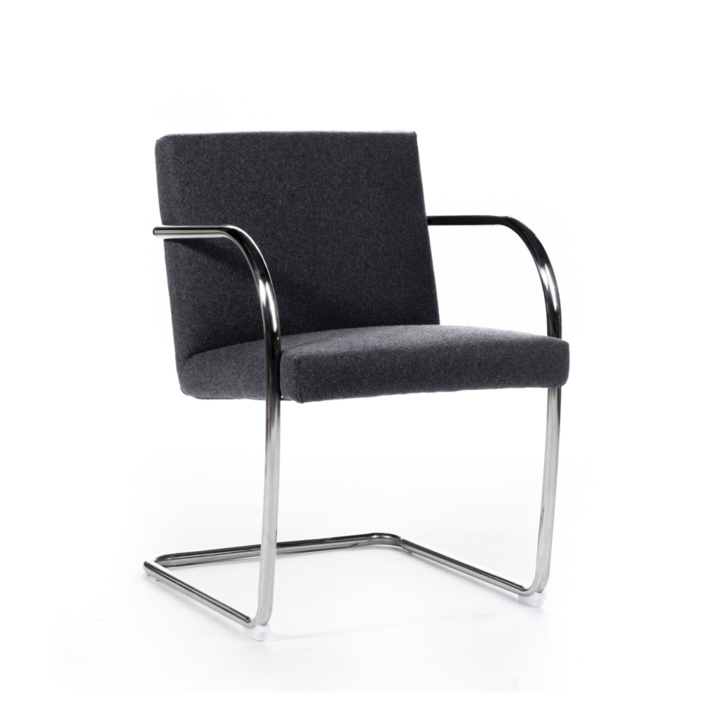 Axle Chair (round) Fabric & Leather