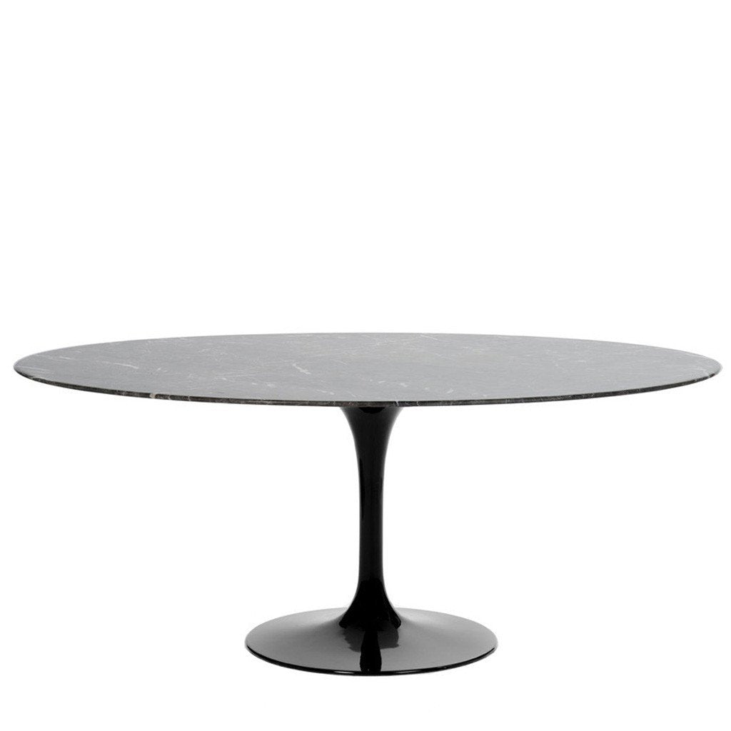 Barbell Oval Dining Table