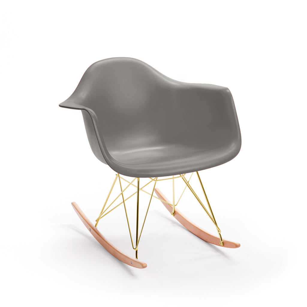 Sliver Armchair Rocker-Ash Base