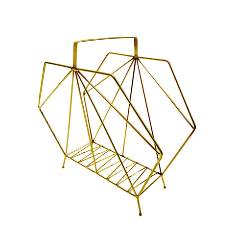 Triangular Magazine Rack