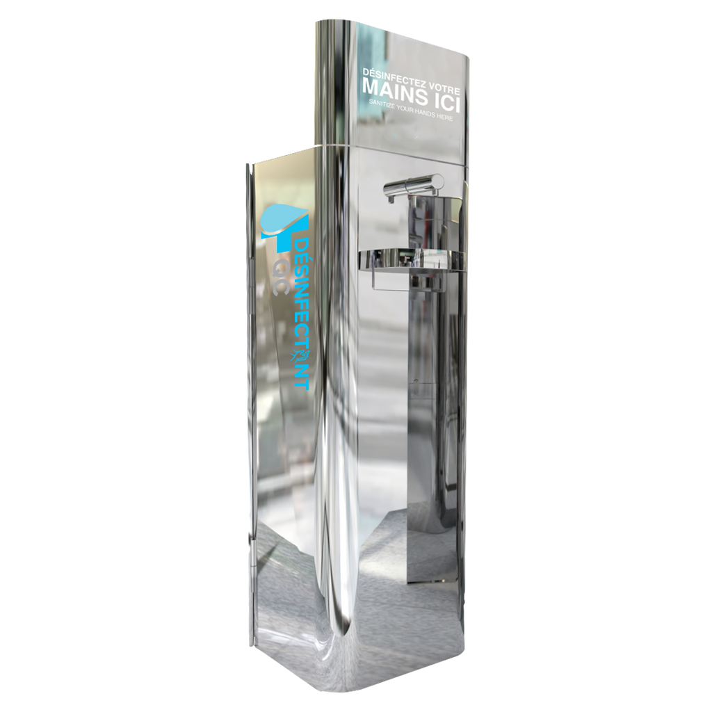 DQC Hand Sanitizing Unit