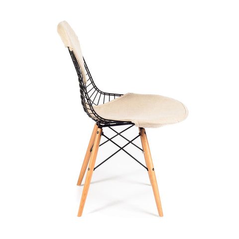 Ray Chair with Bikini Pad and Dowel Base