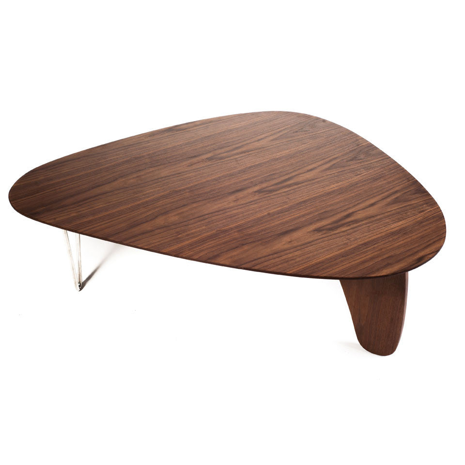 Fin Coffee Table Pink Brown