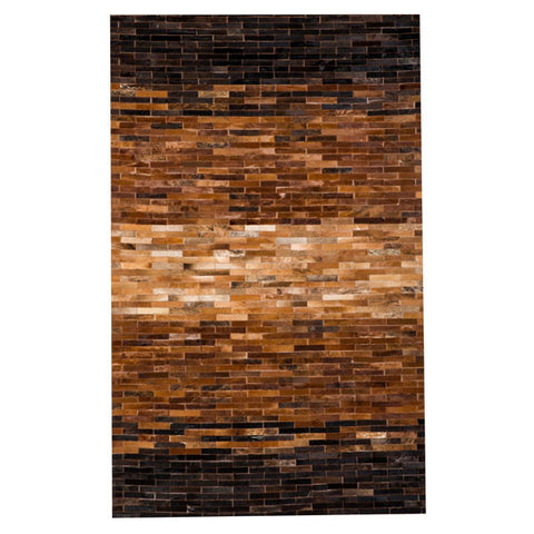 Stripes Cowhide Rug