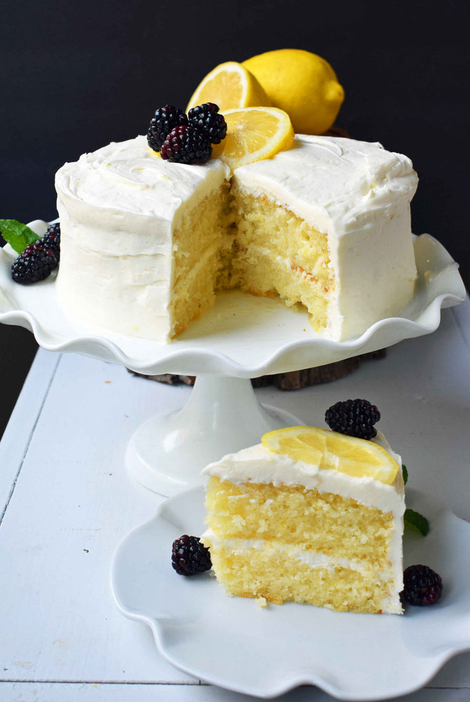 Italian Lemon Olive Oil Cake