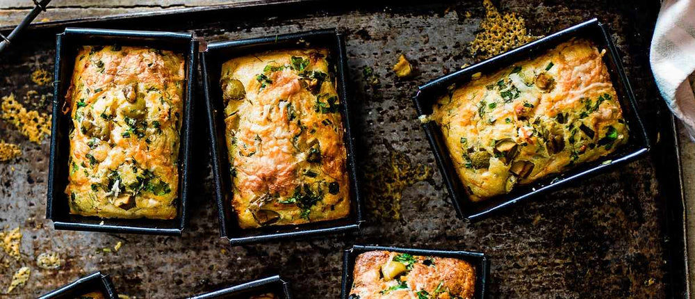 Mini Herb, Olive and Buttermilk Cornbreads