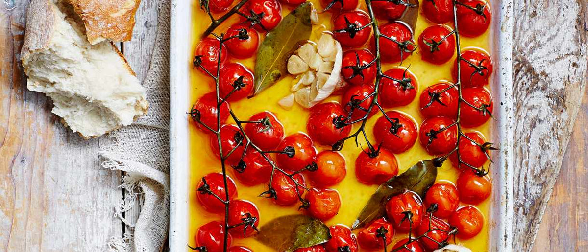 Olive Oil Roasted Cherry Tomatoes