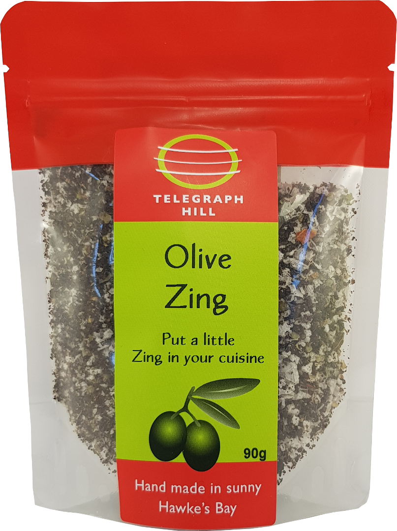 How to use: Olive Salt & Olive Zing