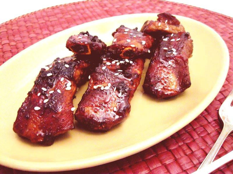 Smokey Pork Spare Ribs