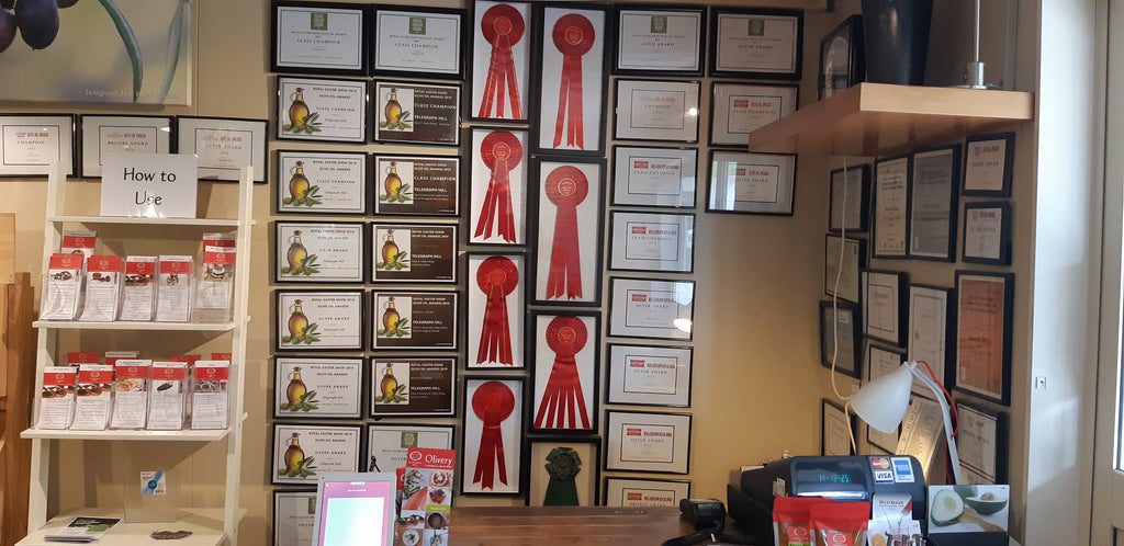 Telegraph Hill Awards Certificates in Shop