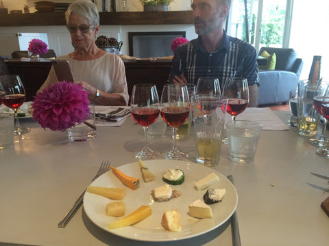Juliet Harbutt Cheese tasting Geoff Crawford Telegraph Hill