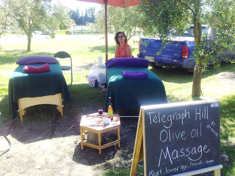 Olive Oil Massage at Telegraph Hill