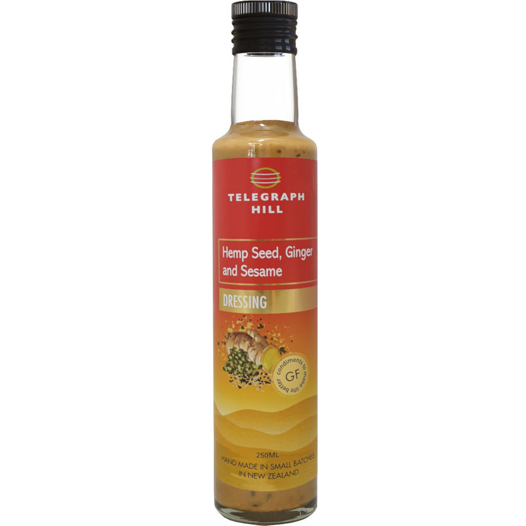 Hemp Seed Ginger & Sesame Dressing 250ml
