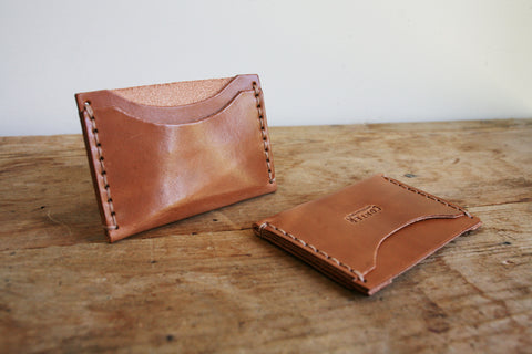 Standard Card Holder (Saddle Tan)