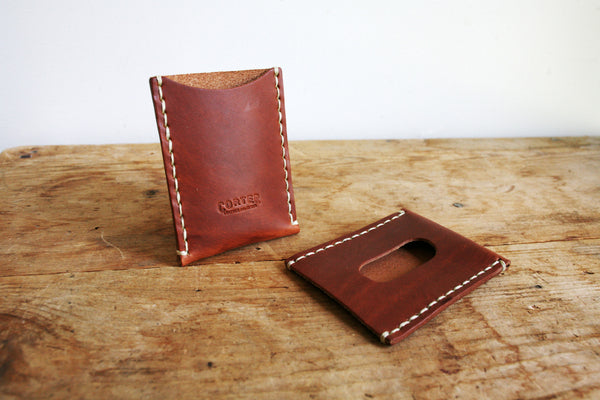 Standard Card Sleeve (Hand Waxed Red Lantern)
